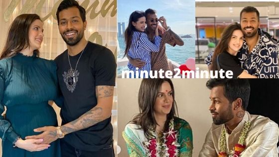 Hardik Pandya and Natasa